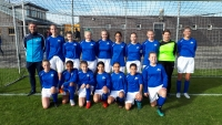 1/2 finale KNVB Bekertoernooi VDL MO15-1 - FC Oegstgeest MO15-1